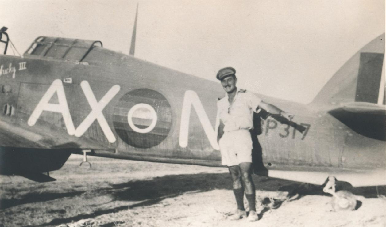 Hawker Hurricane IIb SAAF 1Sqn AXN BP317 North Africa 1942 01