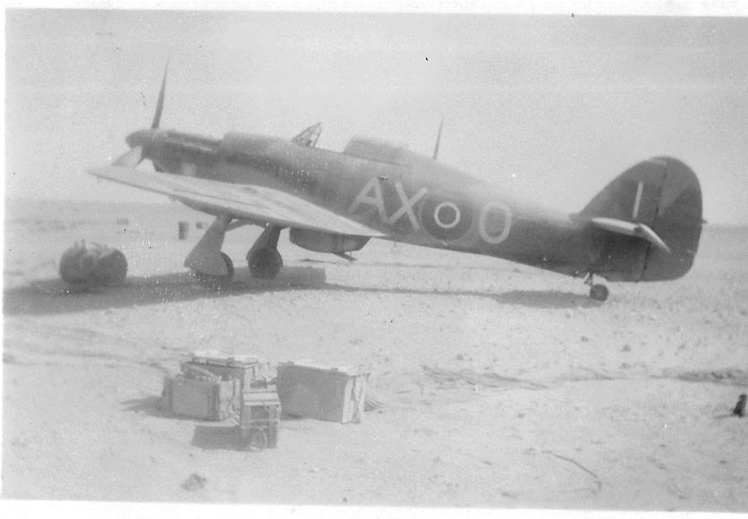 Hawker Hurricane IIb SAAF 1Sqn AXO North Africa 1942 01