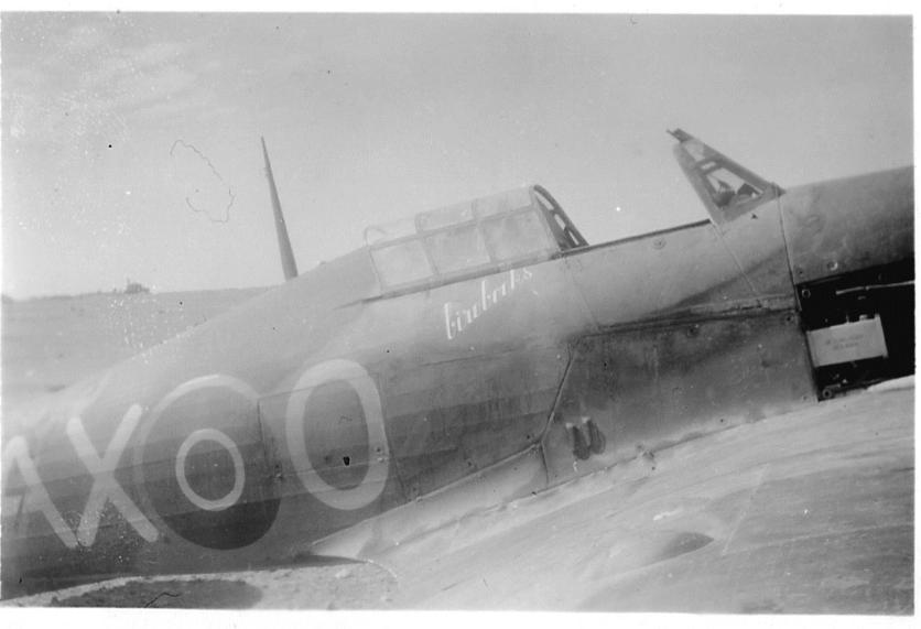 Hawker Hurricane IIb SAAF 1Sqn AXO North Africa 1942 03
