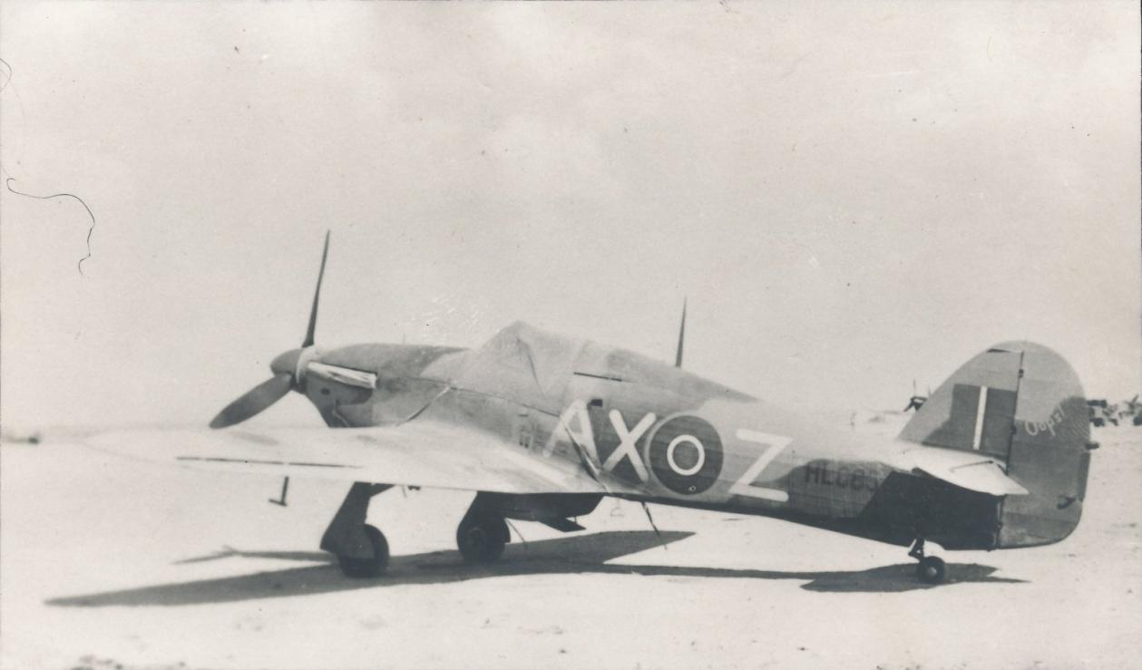 Hawker Hurricane IIb SAAF 1Sqn AXZ North Africa 1942 01