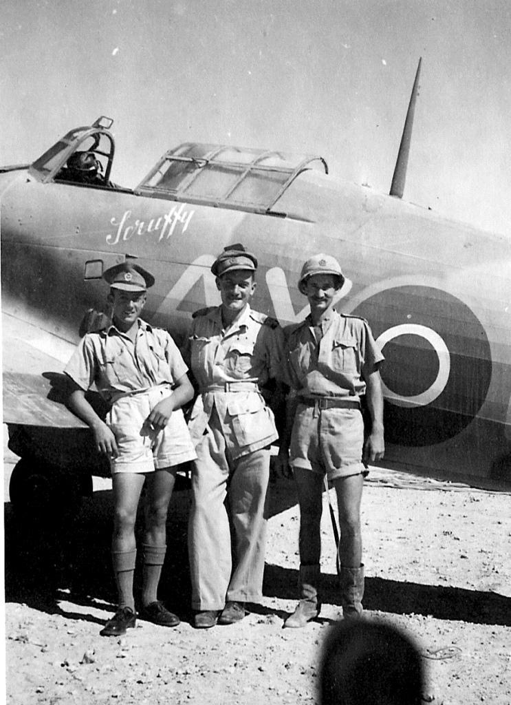Hawker Hurricane IIb SAAF 1Sqn AXx North Africa 1942 01