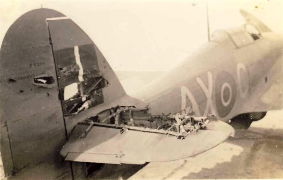 Hawker Hurricane IIb SAAF 1Sqn Jan Vis Salmon AXC North Africa 1942 02