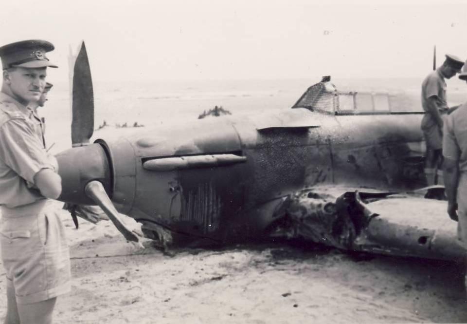 Hurricane IIb SAAF 1Sqn AXL Fred Schofield Z2314 El Gamil 18th May 1942 04