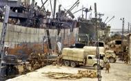 Asisbiz Allied ships unloading supplies Sfax Tunisia spring 1943 01