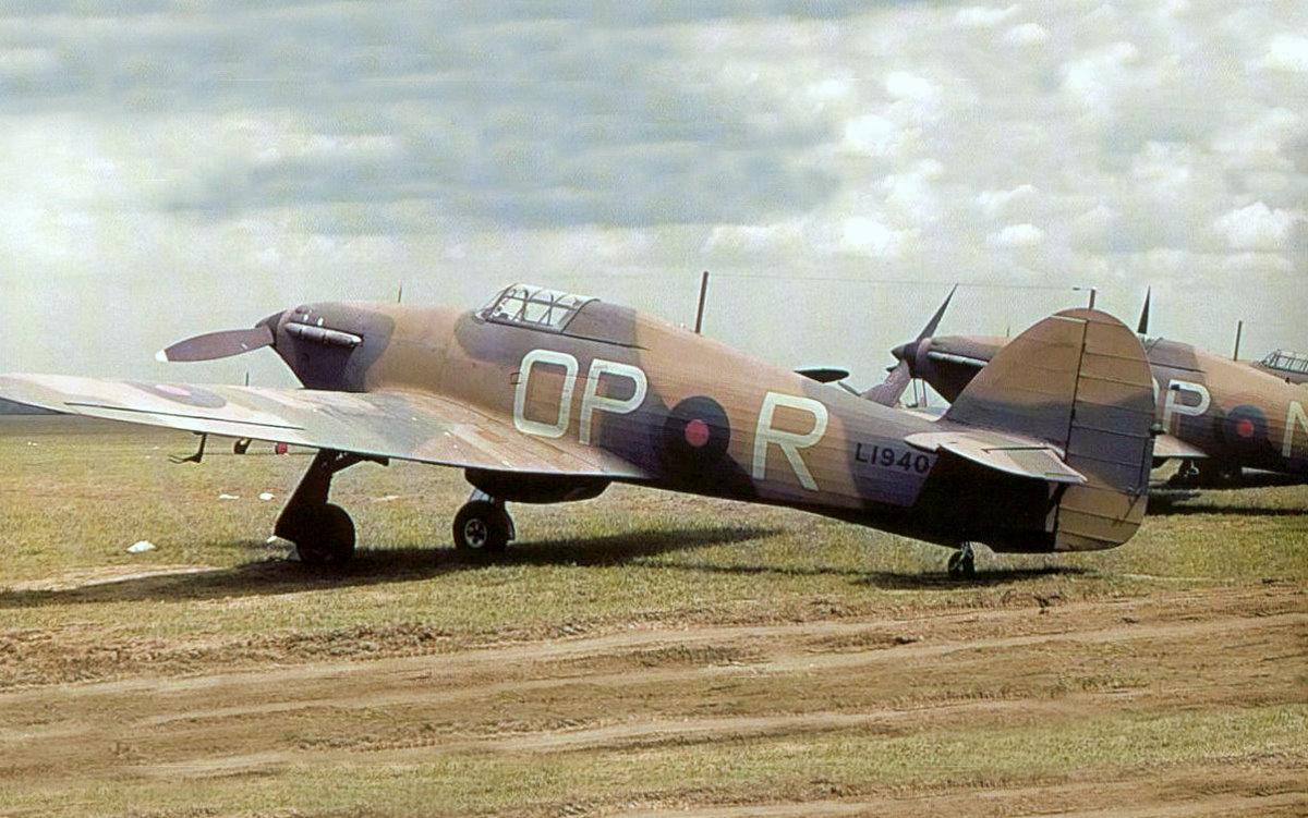 Hurricane I SAAF 3Sqn OPR L1940 before the war South Africa 01