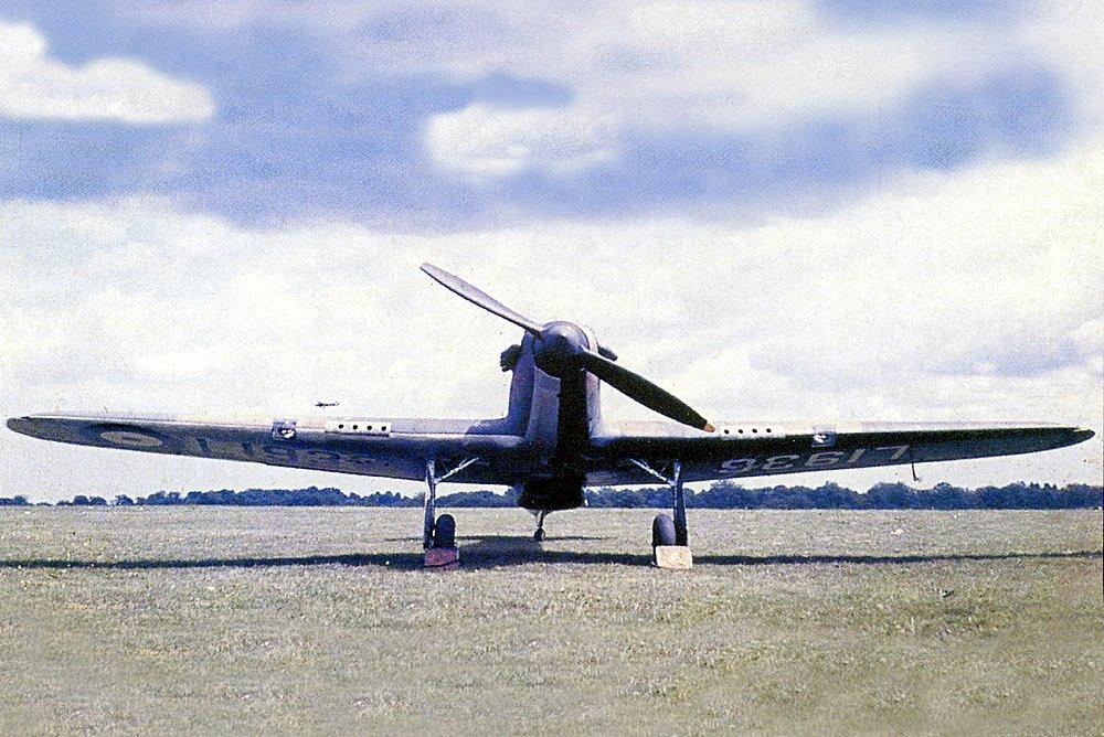 Hurricane I SAAF 3Sqn OPx L1936 before the war South Africa 1938 39 01
