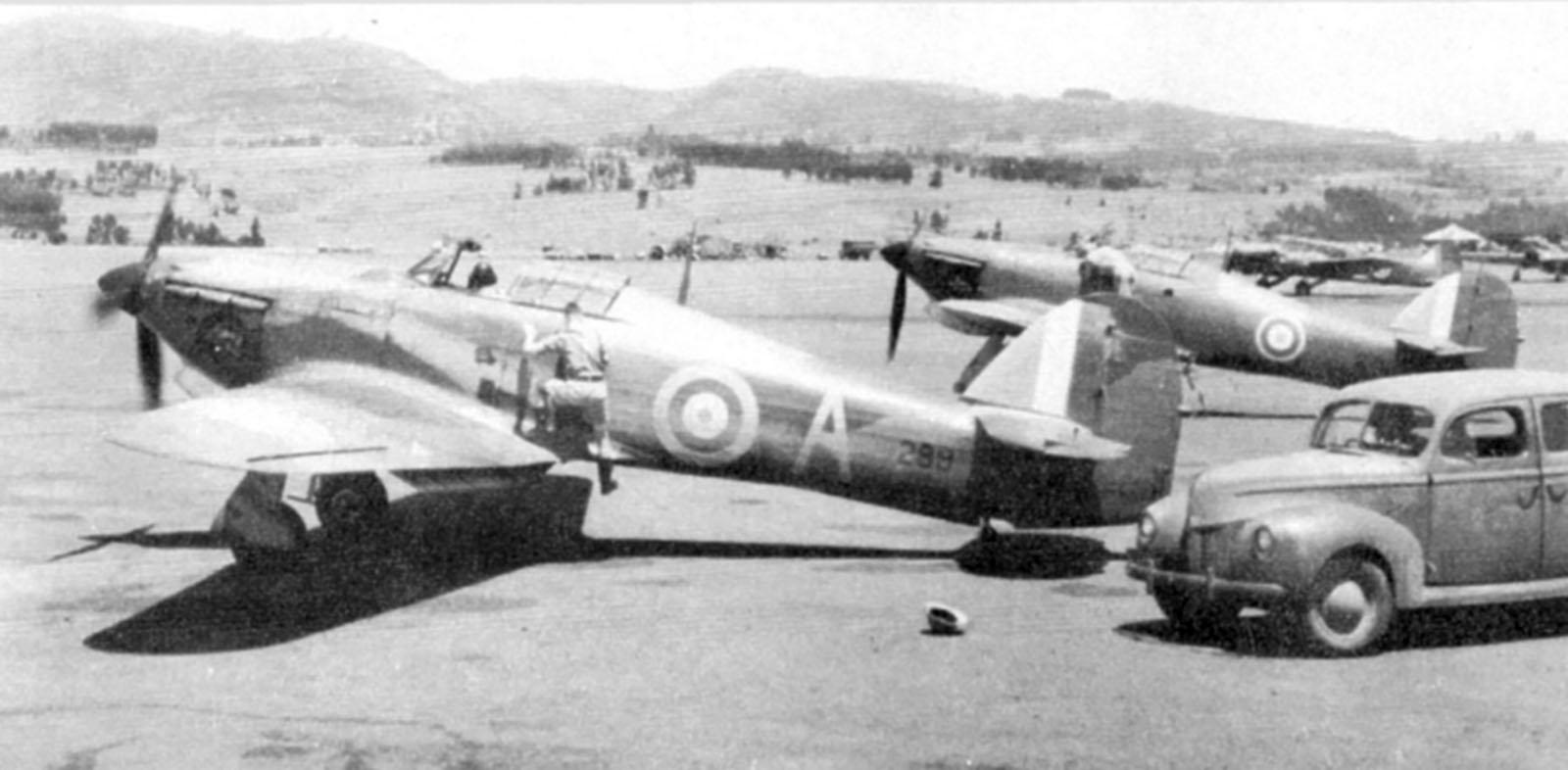 Hurricane I Trop SAAF 3Sqn A 289 Addis Ababa Ethiopia East Africa March 1941 01