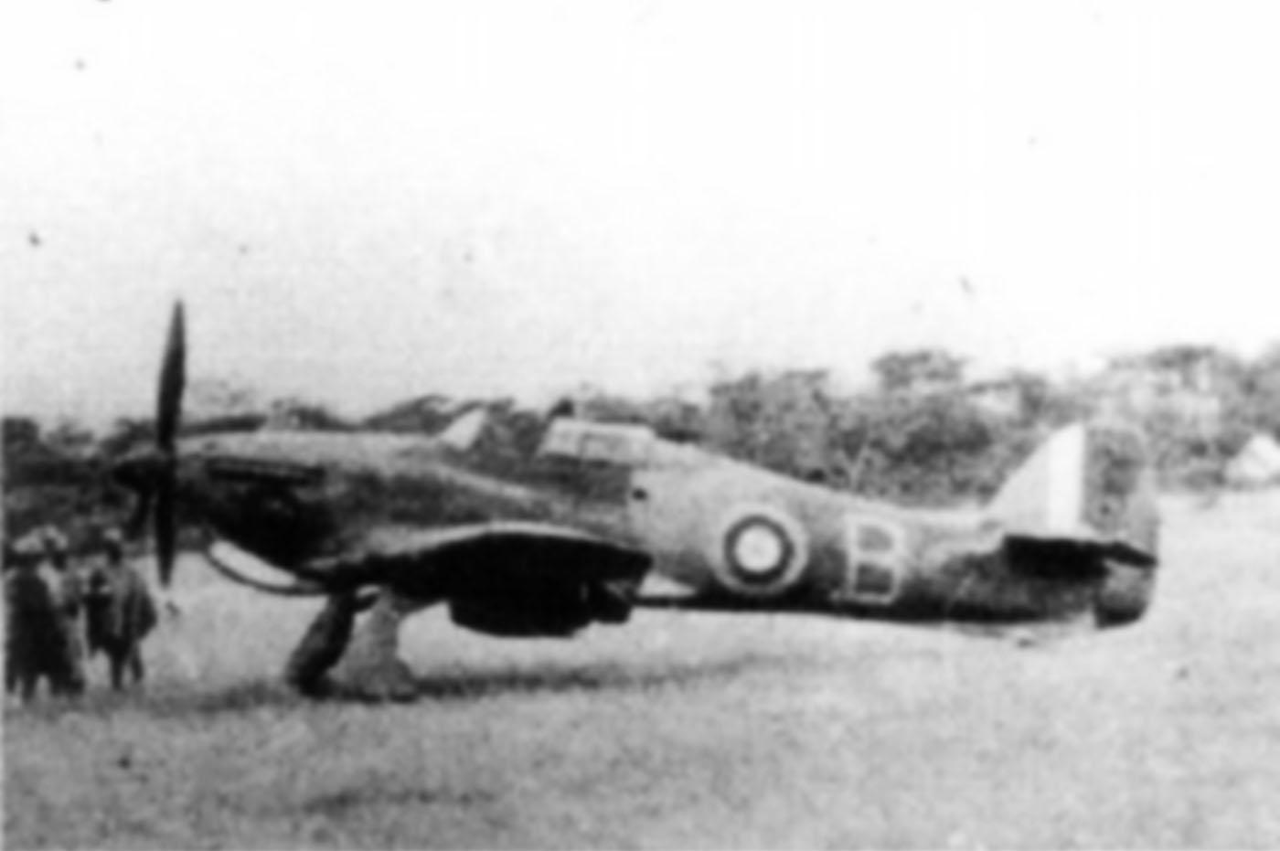 Hurricane I Trop SAAF 3Sqn B 290 Lt Albertus Venter Addis Abeba Abyssinia May 1941 01