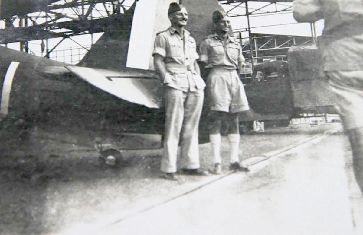 Hurricane I Trop SAAF 3Sqn U Bob Kershaw Dagahbur Ethiopia East Africa March 1941 01