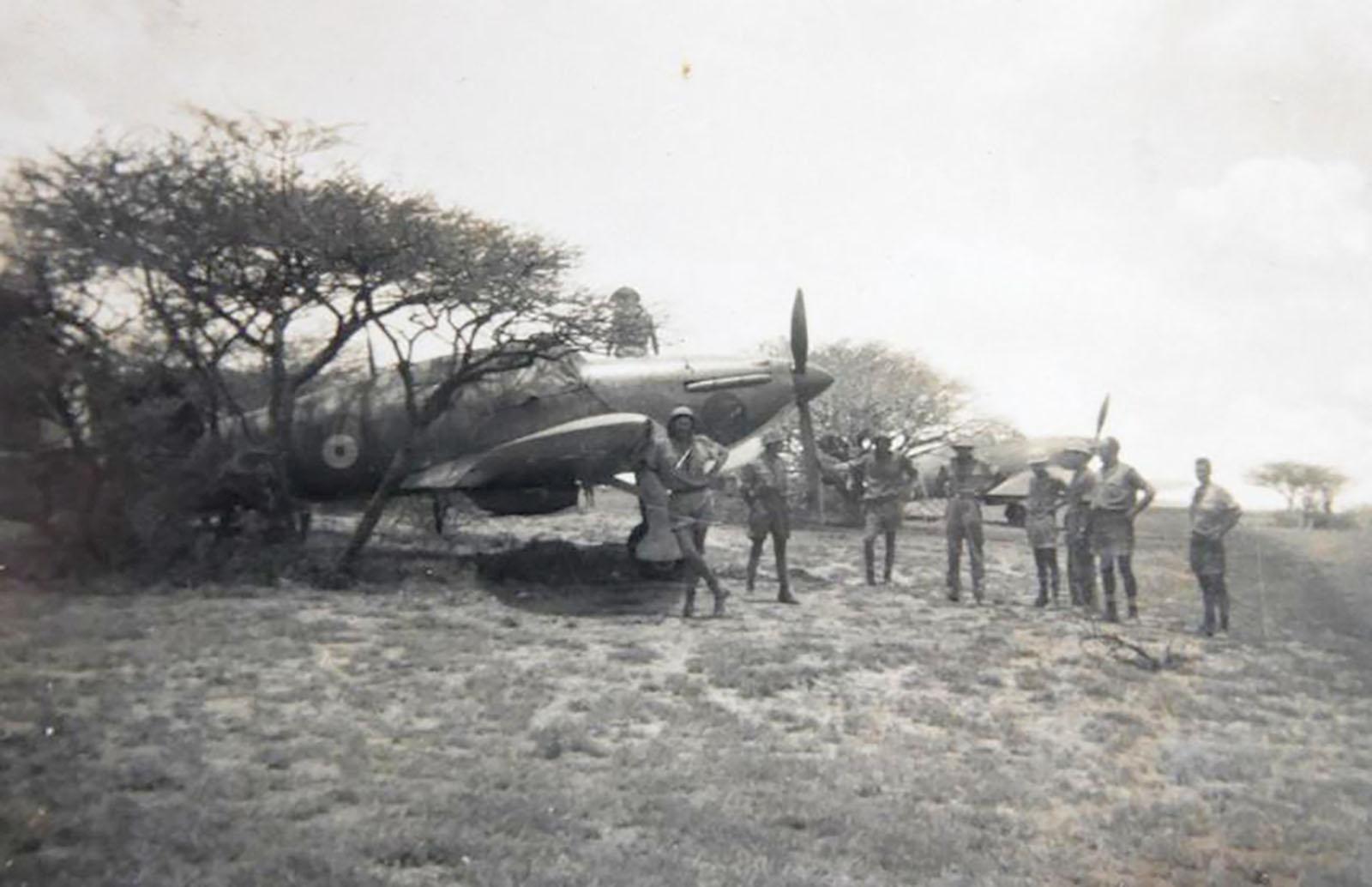 Hurricane I Trop SAAF 3Sqn aircraft East Africa March 1941 01
