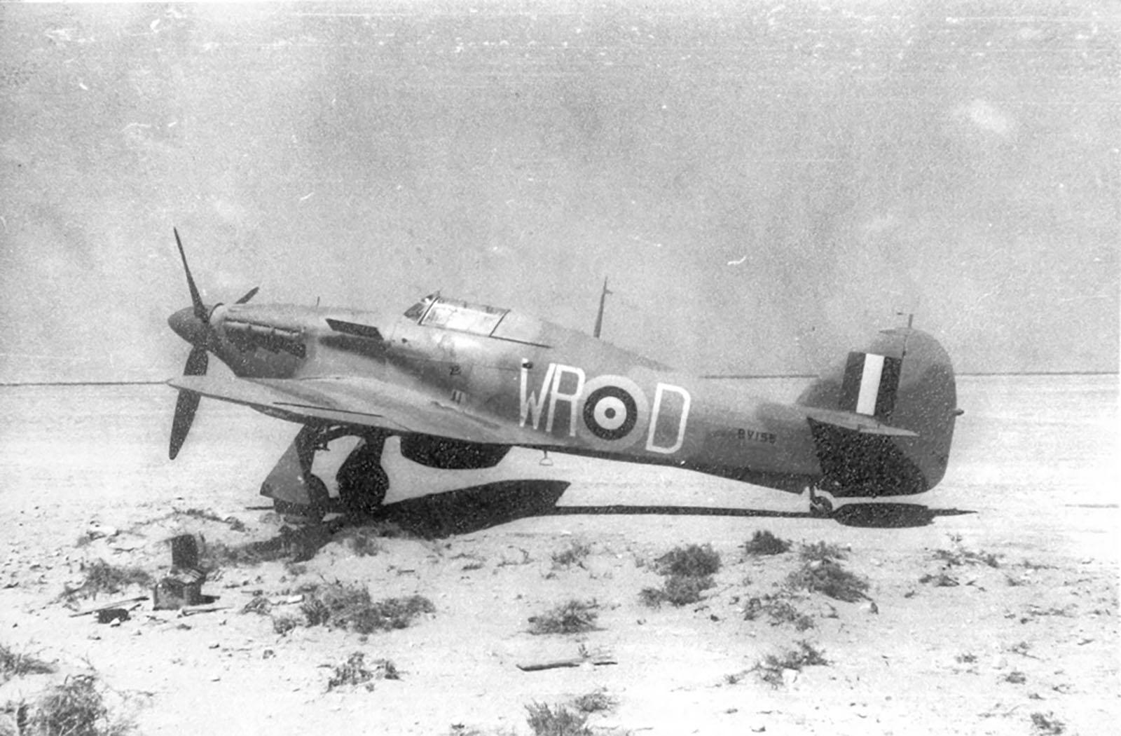 Hawker Hurricane I SAAF 40Sqn WRD Ian Sturgeon BV155 North Africa 1942 01