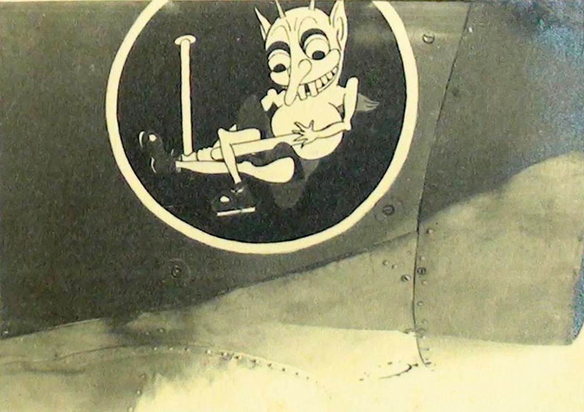 Hawker Hurricane IIb SAAF 40Sqn Gremlin unknown 01