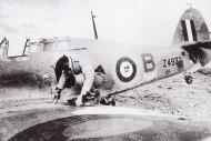 Asisbiz Fleet Air Arm 806NAS Hurricane Z4932 based Aboukir shot down by 4.JG27 Otto Schutz near Martuba 15th Jan 1942 01