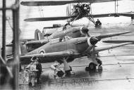 Asisbiz Fleet Air Arm Sea Hurricane I RAF BJJ P5206 pre launch Mediterranean 1941 01