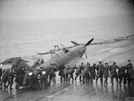 Asisbiz Fleet Air Arm Sea Hurricane aboard HMS Victorious prior to launch 25 27th Jun 1942 IWM A10229