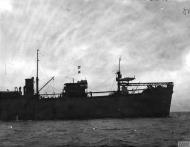 Asisbiz MSFU Sea Hurricane I NJL V6756 aboard a CAM ship Catapult Armed Merchant Greenock IWM A9420