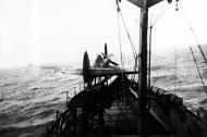 Asisbiz MSFU Sea Hurricane Ia V7070 aboard CAM ship Empire Heath 1942 02