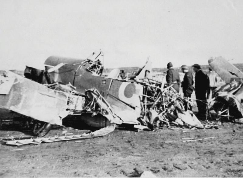 Hurricane IIb RAF 151 Wing 134Sqn crash Murmansk Vaenga USSR 1941 01