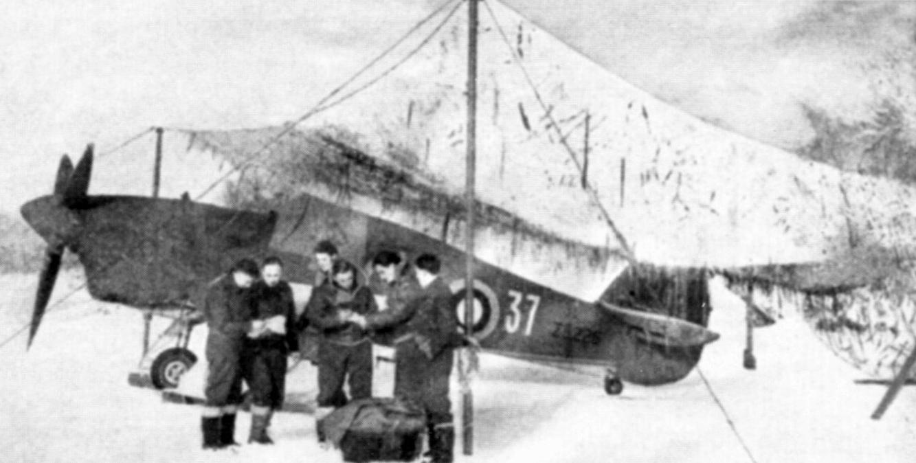 Hurricane IIb Trop RAF 151 Wing 134Sqn GO37 Z5225 Vaenga Oct 1941 02