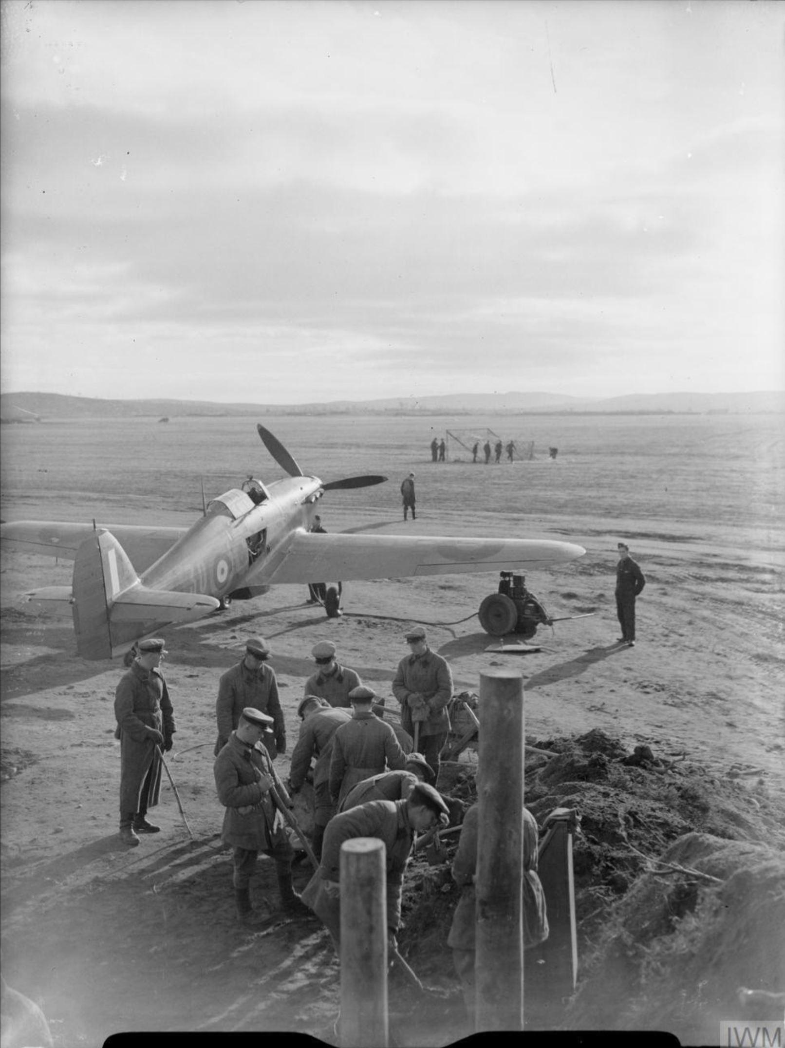 Hurricane IIb Trop RAF 151 Wing 134Sqn GY30 Capt Jack Ross Z3763 Vaenga IWM CR183