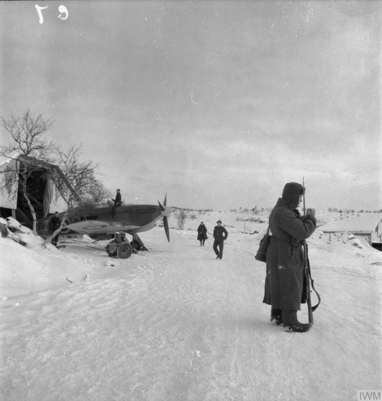 Hurricane IIb Trop RAF 151 Wing 134Sqn Vaenga USSR Oct 1941 IWM CR50