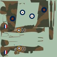 Asisbiz COD asisbiz Hurricane II RAF 151Wing 134Sqn GO37 Z5226 Vayenga Sep 1941