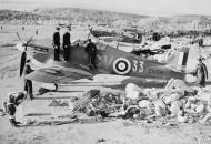 Asisbiz Hurricane IIb Trop RAF 151 Wing 134Sqn GV33 Charles M Ramsay Z5159 Vaenga USSR Oct 1941 IWM CR104