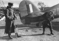 Asisbiz Hurricane IIb Trop RAF 151 Wing 134Sqn GY30 Capt Jack Ross Z3763 Vaenga airfield 01