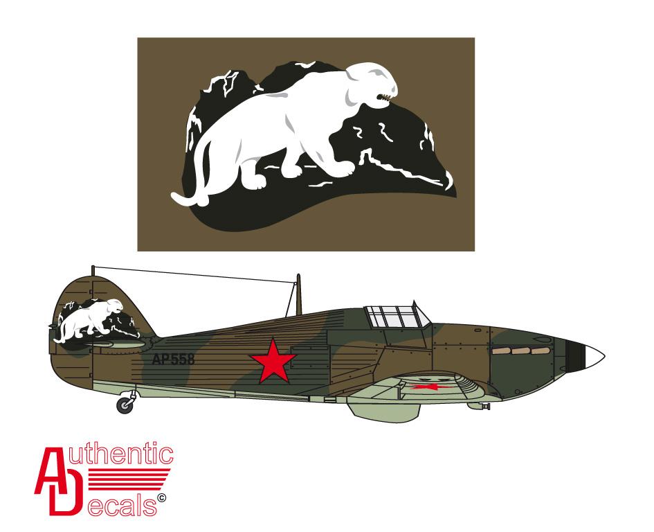 Hurricane II USSR 767IAP Maj LP Yuriev crashed Pod Uzhemye 7th Apr 1942 0B