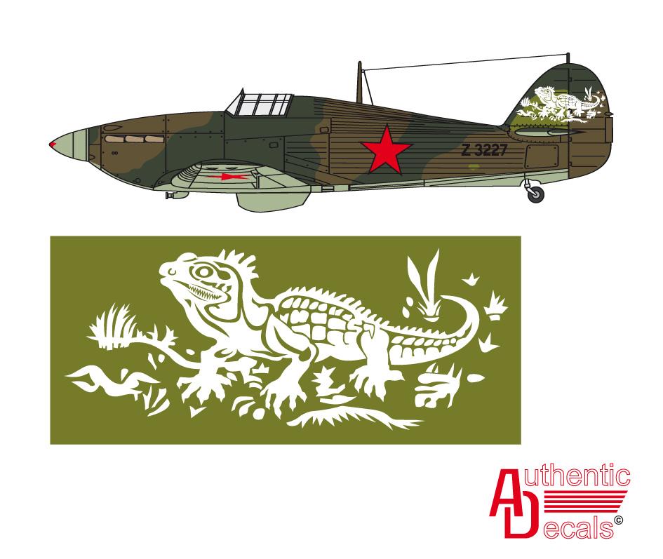 Hurricane II USSR 767IAP exRAF Z3227 Poduzhemiye airfield Karelia 21st Mar 1942 0B