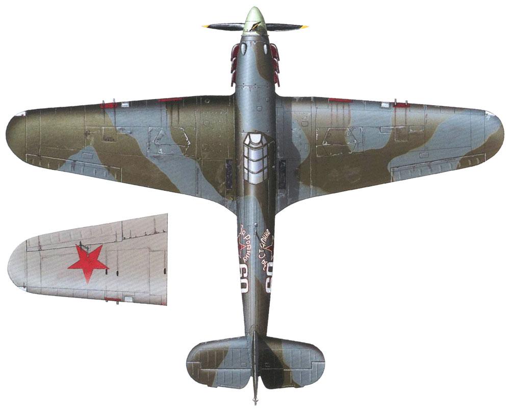 Hurricane IIb USSR 609IAP White 60 Lt Ivan Babanin exRAF BM959 April 1942 0C