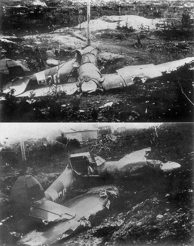 Hurricane IIb USSR White 76 W37xx shot down Karelia 1942 01