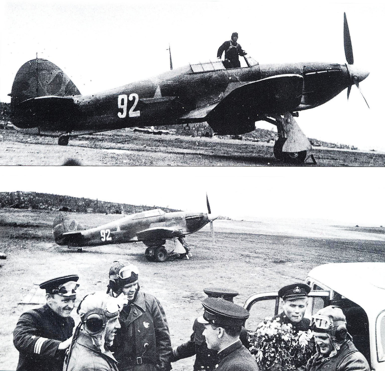 Hurricane USSR 78IAP or 2Giap VVS SF White 92 Russia 1942 01