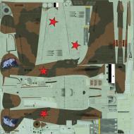 Asisbiz COD asisbiz Hurricane II USSR 767IAP Maj LP Yuriev Pod Uzhemye Apr 1942