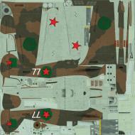 Asisbiz COD asisbiz Hurricane IIbTrop USSR 78IAP W77 Maj Safonov BN233 Vaenga 1942