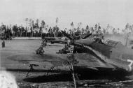 Asisbiz Hurricane I USSR 1GvIAP White 32 and White 10 Russia 1942 01