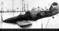 Asisbiz Hurricane IIb USSR 609IAP W60 BM959 Soviet Tiiksjarvi Air Base area East Karelia captured by Finns 6th April 1942 02