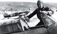 Asisbiz Hurricane USSR 78IAP Capt Vasiliy Adonkin and White 96 at Pummanki airfield 1943 01