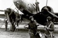 Asisbiz Aircrew 42APDD pilot SenLt DI Romanov, nav Lt AN Prokudin (lad), radio Sgt KA Kosykh (L) n gun Sgt I Rybkin 1943 01