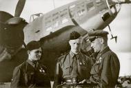 Asisbiz Aircrew Soviet 752APDD Heroes SA Kharchenko and YN Petelin with regiment commander LtColo IK Brovko 01