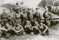 Asisbiz Ilyushin IL 4 (DB 3F) 20GBAP no 117 with personnel at Lublin Poland 3rd Dec 1945 01