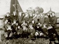 Asisbiz Ilyushin IL 4 (DB 3F) 20GBAP with personnel at Lublin Poland 3rd Dec 1945 01