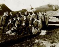 Asisbiz Ilyushin IL 4 (DB 3F) 20GBAP with personnel at Lublin Poland 3rd Dec 1945 02