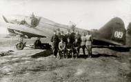 Asisbiz Ilyushin IL 4 (DB 3F) 42APDD White 019 with Alexey Baukin n Vasily Menshikov at Rybinsk near Moscow 1943 01