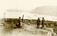 Asisbiz Anti aircraft defences on the coast Suda Bay Crete IWM E1189