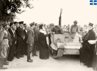 Asisbiz Bishop of Canea blessing Bren carriers and light tanks Crete 15 Oct 1940 IWM E1197