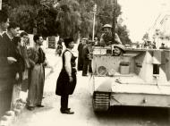 Asisbiz Bishop of Canea blessing Bren carriers and light tanks Crete 15 Oct 1940 IWM E1202