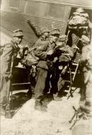 Asisbiz German mountain troops board a Junkers Ju 52 for Crete 20th May 1941 IWM HU52264