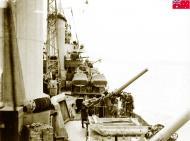 Asisbiz HMAS Sydney as she approaches Suda Bay Crete 14 Nov 1940 IWM E1154