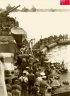 Asisbiz HMAS Sydney at Port Said 14 Nov 1940 IWM E1149